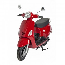 Scooter ROUGE Style Italien 50cc-ZN50QT-30