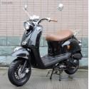 Scooter Noir 50cc Rétro 50QT-4